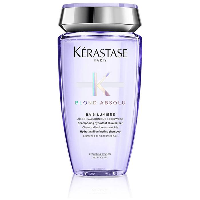 Bain Lumiere Blond Absolu Shampooing Hydratant Cheveux Decolores