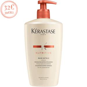 BAIN SATIN 2 500 mL par Kerastase