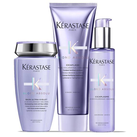 Trio Blond Californien par Kerastase